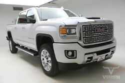 2019 GMC Sierra 2500  2019 Navigation Sunroof Heated Leather Bluetooth V8 Diesel Vernon Auto Group