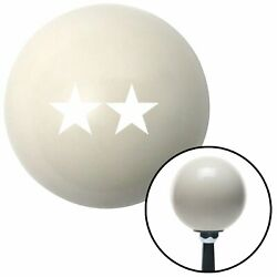 White Officer 08 - Major General Ivory Shift Knob With 16mm X 1.5 Insert Parts