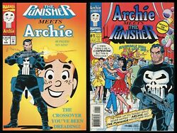 Punisher Meets Archie 1 One-shot Comic Lot W/ Variant Archie Meets The Punisher