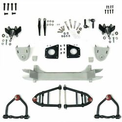 Mustang Ii 2 Ifs Front End Kit For 48 And Later Studebaker W 2 In Drop