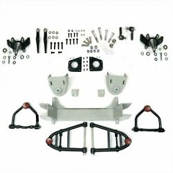 Mustang Ii 2 Ifs Front End Kit For 64-73 Mustang Comet Falcon W Drop Spindles