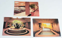 Lot of 3 Watchtower POSTCARDS PLANT CITY ASSEMBLY HALL FL Jehovah Bible Students
