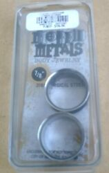 Morbid Metals Body Jewelry 7/8 316l Surgical Steel Single Flare New In Package