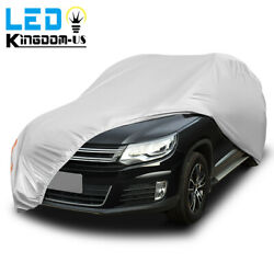 Universal Fit Car Cover Uv Rain Snow Dust Heat Scratch Resistant Suv Protection