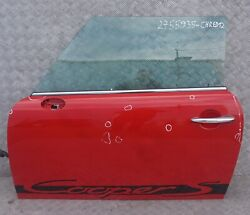 Bmw Mini Cooper 12 R55 R56 R57 R58 R59 Door Front Left N/s Chili Red - 851