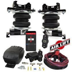 Air Lift Loadlifter5000 Air Springs And Wireless One Compressor For 09-18 Ram 1500