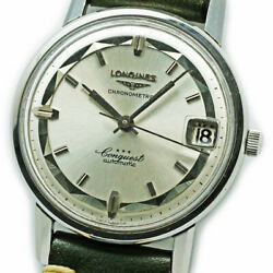 Longines Conquest Chronometer Ref.9024 6 Cal.291 Watch Excellent From Japan