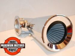 Funnel High Flow Air Cleaner Breather For Harley Evo And Tc Models Sands Super E And G