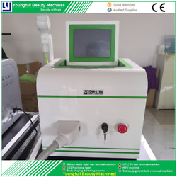 Hair Removal Machine Shr 808nm Diode Laser Fast Treatment Instant Effect No Pain