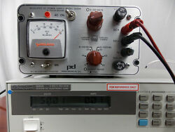 POWER DESIGNS REGULATED DC POWER SUPPLY MODEL 5005R 0-50V 0-500MA *TESTED*