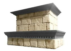 Stone Range Hood - Any Size, Any Color - Victorian - Easy Install, Free Samples