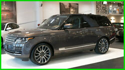 2017 Land Rover Range Rover Autobiography 2017 Autobiography Fully Loaded Like New MSRP over $140k