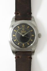 Zodiac Rotograpnic 656 Automatic Winding Vintage Watch 1950and039s Overhauled