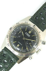 Le Phare Chronograph 618601 Ss 597ms Hand-wound Valjoux 92 Andeacutetui 36.0 Mm