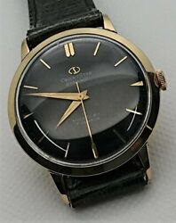 Orient Star Dynamic Black K14 Gold Filled New Old Stock 1956 Hand Winding Watch