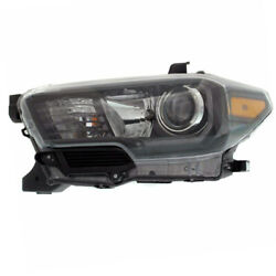 For 17-19 Tacoma Front Headlight Headlamp W/led Drl Head Light Lamp Driver Side