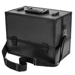 Professional Makeup Train Case Cosmetic Cases Makeup Storage Organizer 6 Trays $39.99