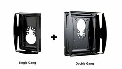 Qbit Sq1000-s + Sq1000-d 1 And 2 Gang Saw Blade Oscillating Tool Wall Outlet Box