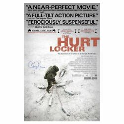 Jeremy Renner Autographed The Hurt Locker Original 27x40 Double-sided Poster