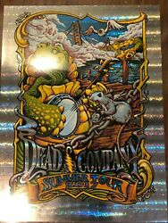 Turtle Shell Foil Dead And Company Aj Masthay 2017 Summer Tour Poster Chicago