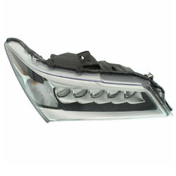 Capa For 14-16 Mdx Front Headlight Headlamp Led Head Lamp With Bulb Right Side