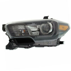 Capa For 17-19 Tacoma Front Headlight Headlamp W/led Drl Head Lamp Driver Side