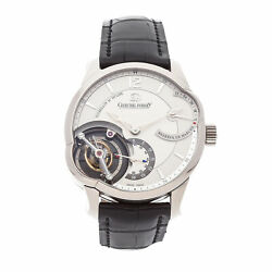 Greubel Forsey Tourbillon 24 Secondes Asymetrique White Gold Manual Watch GF01