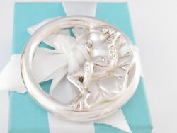 New And Co Silver Frog Bee Baby Rattle Box Pouch Packaging