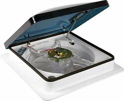 Fan-tastic Vent Rv Roof Vent With Thermostat, Manual And Automatic Speed 12 Volt