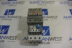Abb A50-30 A50n2-30 Size 2 Starter 45 Amp 25 Hp 120 Coil Ta75du Overload Used