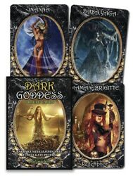 Dark Goddess Oracle Cards 2018 New Divination Deck W/ Booklet