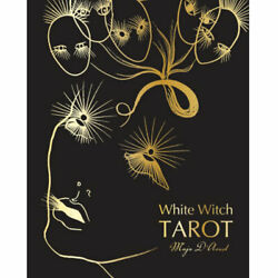 White Witch Tarot Deck New Major Arcana 22-card Metallic Art Cards And Booklet