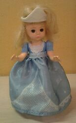 Madame Alexander Cinderella Toddler Doll 5.5 Eyes Open And Close Poseable