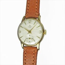 SMITHS De-Luxe Small Second 9KYG Hand Winding Cal.50461E Vintage Watch 1960's