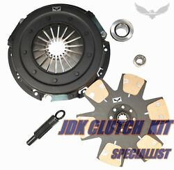 Jdk Stage 4 Max Grip Clutch Kit For 1986-2001 Ford Mustang Gt Lx 5.0l 4.6l