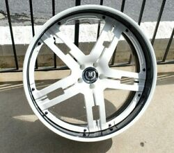 24 Reconditioned Auto Couture Staggered Lip Wheels Dodge Charger/challenger