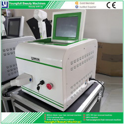 Fast Permanent Hair Removal Machine 808nm Diode Laser Shr Beauty Instruments New