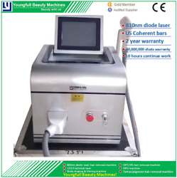 Permanent Hair Removal Semiconductor Laser Machine Skin Rejuvenation Painless