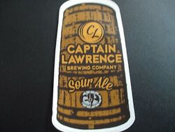 Captain Lawrence Brewing Hop Commander Foeder Sticker Decal Craft Beer Brewery