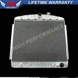 Kks 3 Row Radiator Fit 1955 1956 1957 Chevy Bel Air Del Ray 150 210 V8 Support