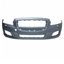 11-15 Xj And Xjr Front Bumper Cover Assembly Primed W/o Park Assist Sensor Holes