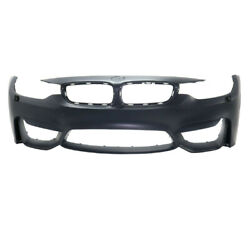 15-18 M3/m4 Front Bumper Cover Assembly W/o Park Distance W/headlamp Washer Hole