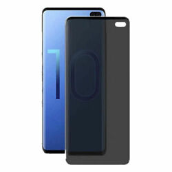 Full Covered Privacy Screen Protector Soft Film For Samsung Galaxy S10 Plus Lot