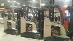 2010 Crown RC5535-30-190 Forklift with 2017 battery.