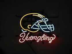 New Cleveland Browns Yuengling Man Cave Bar Beer Neon Light Sign 24x20