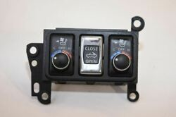 NISSAN 370Z Z34 CONVERTIBLE SEAT CLIMATE CONTROLS WITH TOP SWITCH  PA66-CF8 OEM