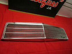 1974 Chevrolet Chevelle Malibu And Elcamino Front Grille With Emblem Nos