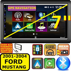 01 02 03 04 Ford Mustang Apple Carplay Android Auto Bluetooth Touchscreen Pkg