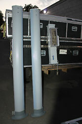Water Proof Ceia Pmd2 Security Walk Through Metal Detector  With Shipping Case