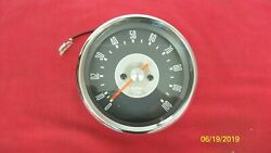 65-69 Triumph 500 650 New Reproduction Smith Grey Faced Tachometer 41 Ratio